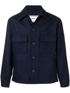 Ami Paris куртка свободного кроя