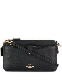Coach сумка-мессенджер зернистой фактуры
