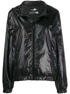 Plein Sport куртка с нашивкой-логотипом