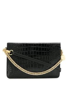 Givenchy сумка через плечо Cross3 с тиснением под крокодила