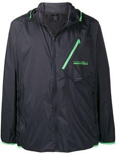 Oakley куртка с капюшоном и контрастными манжетами