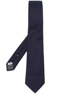 Canali галстук с геометричным узором
