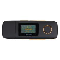 MP3 плеер DIGMA U3 flash 4Гб черный/оранжевый [u3bk]