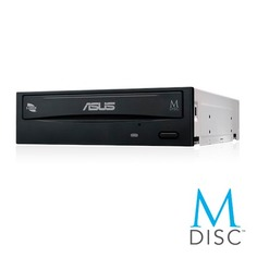 Оптический привод DVD-RW ASUS DRW-24D5MT/BLK/B/AS, внутренний, SATA, черный, OEM