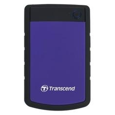 Внешний жесткий диск TRANSCEND StoreJet 25H3P TS1TSJ25H3P, 1ТБ, фиолетовый
