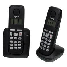 Радиотелефон GIGASET A120 Duo, черный