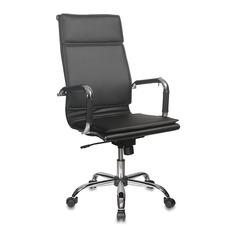 Кресло руководителя БЮРОКРАТ Ch-993, на колесиках, искусственная кожа, черный [ch-993/black]