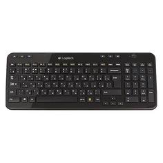 Клавиатура LOGITECH K360, USB, Радиоканал, черный [920-003095]