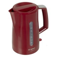 Чайник электрический BOSCH TWK3A014, 2400Вт, красный