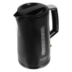 Чайник электрический BOSCH TWK3A013, 2400Вт, черный