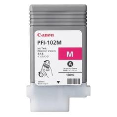 Картридж CANON PFI-102M, пурпурный [0897b001]