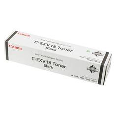 Тонер CANON C-EXV18 (GPR-22), для iR1018/1022, черный, 465грамм, туба