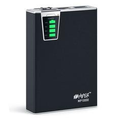 Внешний аккумулятор (Power Bank) HIPER MP10000, 10000мAч, черный [mp10000 black]