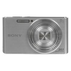 Цифровые фотоаппараты Цифровой фотоаппарат SONY Cyber-shot DSC-W830, серебристый