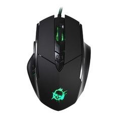 Мышь OKLICK 815G INFERNO, игровая, оптическая, проводная, USB, черный [gm18]