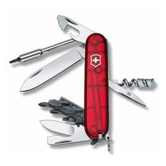 Складной нож VICTORINOX CyberTool S, 27 функций, 91мм, красный полупрозрачный