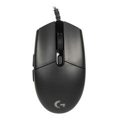 Мышь LOGITECH G102 Prodigy, игровая, оптическая, проводная, USB, черный [910-004939]