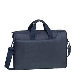 """Сумка для ноутбука 15.6"""" RIVA 8035, темно-синий [8035 dark blue]"""