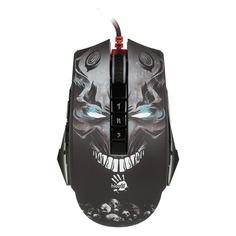 Мышь A4 Bloody P85, игровая, оптическая, проводная, USB, черный