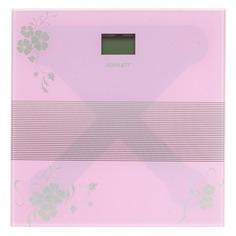 Напольные весы SCARLETT SC-BS33E060, до 150кг, цвет: фиолетовый/рисунок [sc - bs33e060]