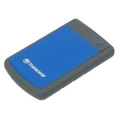 Внешний жесткий диск TRANSCEND StoreJet 25H3 TS1TSJ25H3B, 1ТБ, синий
