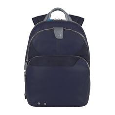Рюкзак унисекс Piquadro Coleos CA2944OS/BLU2 синий натур./искуст. кожа