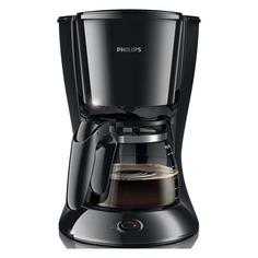 Кофеварка PHILIPS HD7467/20, капельная, черный