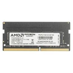 Модуль памяти AMD Radeon R7 Performance Series R744G2400S1S-UO DDR4 - 4Гб 2400, SO-DIMM, OEM