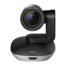Web-камера LOGITECH Conference Cam GROUP, черный и серебристый [960-001057]