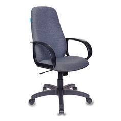 Кресло руководителя БЮРОКРАТ CH-808AXSN, на колесиках, ткань, темно-серый [ch-808axsn/g]