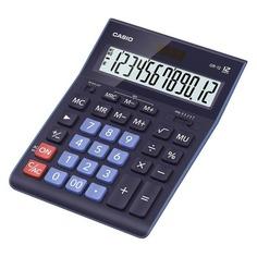 Калькулятор CASIO GR-12BU, 12-разрядный, темно-синий