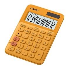 Калькулятор CASIO MS-20UC-RG-S-EC, 12-разрядный, оранжевый