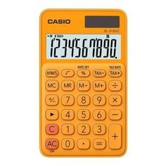 Калькулятор CASIO SL-310UC-RG-S-EC, 10-разрядный, оранжевый