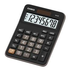 Калькулятор CASIO MX-8B, 8-разрядный, черный