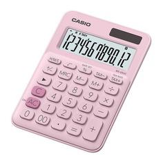 Калькулятор CASIO MS-20UC-PK-S-UC, 12-разрядный, розовый