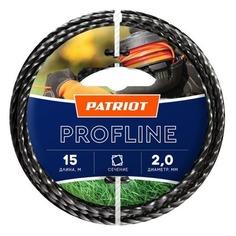 Леска для садовых триммеров PATRIOT Profline, 2.0мм, 15м [805402201] Патриот