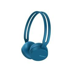 Наушники с микрофоном SONY WH-CH400, Bluetooth, накладные, синий [whch400l.e]