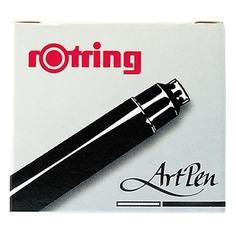 Картридж для перьевой ручки Rotring Artpen S0194751 черн.:черные (упак.:6шт) 12 шт./кор.
