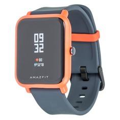 """Смарт-часы XIAOMI Amazfit Bip, 1.28"""", оранжевый / синий [uyg4022rt]"""