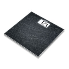 Напольные весы BEURER GS203 Slate, до 150кг, цвет: рисунок [756.36]