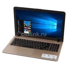 "Ноутбук ASUS X540YA-XO047T, 15.6"", AMD E1 7010 1.5ГГц, 2Гб, 500Гб, AMD Radeon R2, Windows 10, 90NB0CN1-M00670, черный"