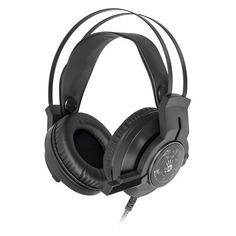 Гарнитура игровая A4TECH Bloody G430, для компьютера, мониторные, черный [g430 black]