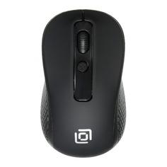 Мышь OKLICK 645MW, оптическая, беспроводная, USB, черный