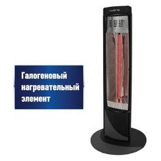 Галогеновый обогреватель POLARIS PHSH 0708D, 800Вт, черный