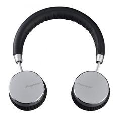 Наушники с микрофоном PIONEER SE-MJ561BT, Bluetooth, мониторы, серебристый [se-mj561bt-s]