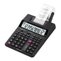 Калькулятор CASIO HR-150RCE-WA-EC, 12-разрядный, черный