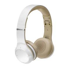 Наушники PIONEER SE-MJ771BT, 3.5 мм/Bluetooth, накладные, белый [se-mj771bt-w]
