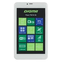 Планшет DIGMA Plane 7561N 3G, 1GB, 16GB, 3G, Android 7.0 золотистый [ps7176mg]