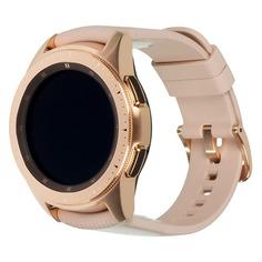 """Смарт-часы SAMSUNG Galaxy Watch 42мм, 1.2"""", розовое золото / розовое золото [sm-r810nzdaser]"""