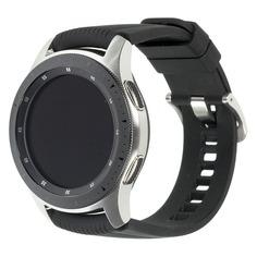 "Смарт-часы SAMSUNG Galaxy Watch 46мм, 1.3"", серебристый / черный [sm-r800nzsaser]"